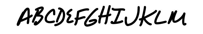 AlphaMack AOE Font UPPERCASE