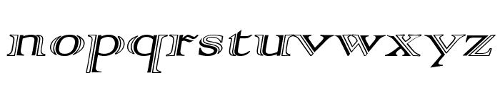 AlphaRev Font LOWERCASE