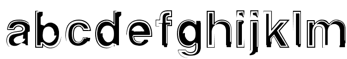 AlphaSixTeen Font LOWERCASE