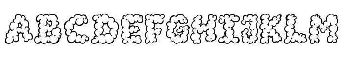 AlphaSmoke Font UPPERCASE