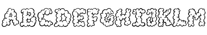 AlphaSmoke Font LOWERCASE