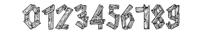 AlphaWood Font OTHER CHARS