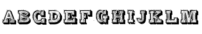 Alphabet Fantasie Regular Font UPPERCASE