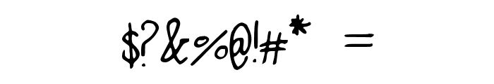 AlphabetSoup Font OTHER CHARS