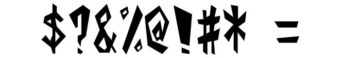 Alphabet_01 Font OTHER CHARS