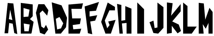 Alphabet_01 Font UPPERCASE