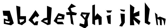 Alphabet_01 Font LOWERCASE