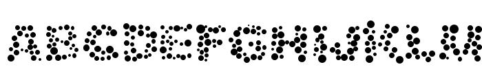 Alphabet_05 Font UPPERCASE