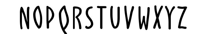 AlphabetismHand Font UPPERCASE