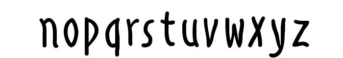 AlphabetismHand Font LOWERCASE