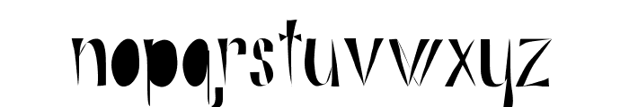 Alphabits-Fat Font LOWERCASE