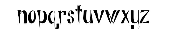 Alphabits-Regular Font LOWERCASE