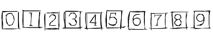 AlphabitsSquared Font OTHER CHARS