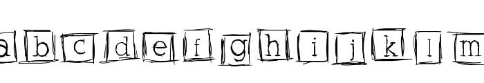 AlphabitsSquared Font UPPERCASE