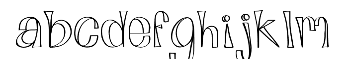 Alphabits Font LOWERCASE