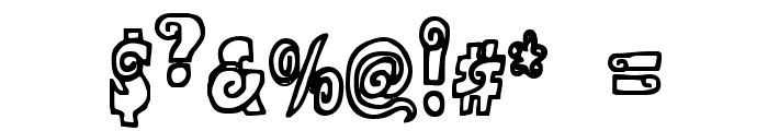 Alphasnail Font OTHER CHARS