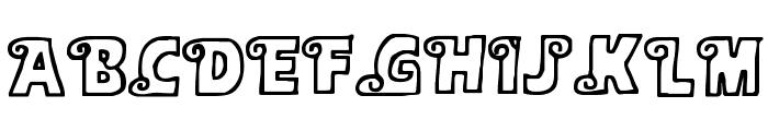 Alphasnail Font UPPERCASE