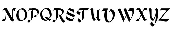 Alpine Regular Font UPPERCASE