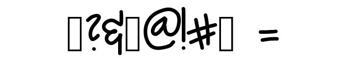 Alpine Script Font OTHER CHARS