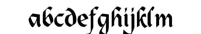 Alpine Font LOWERCASE
