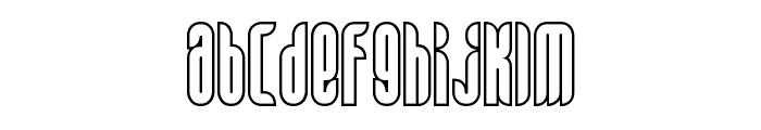 Alt Matey Light Font LOWERCASE