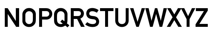 Alte DIN 1451 Mittelschrift gepraegt Font UPPERCASE