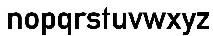 Alte DIN 1451 Mittelschrift gepraegt Font LOWERCASE