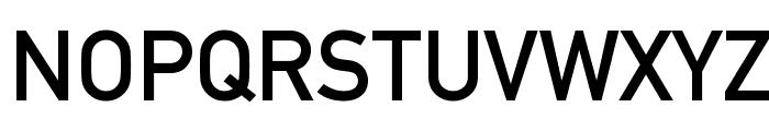 Alte DIN 1451 Mittelschrift Font UPPERCASE