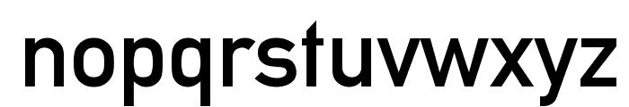Alte DIN 1451 Mittelschrift Font LOWERCASE