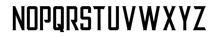Alter Regular Font UPPERCASE
