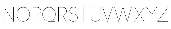 Altera - Regular Font UPPERCASE