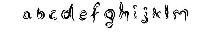 Alterna Font LOWERCASE