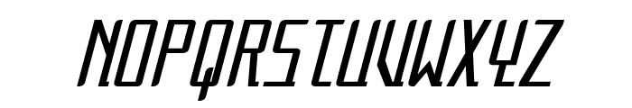 Alternation Condensed Italic Font UPPERCASE
