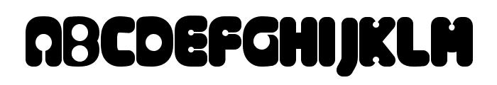 AlternativeNineties Font UPPERCASE