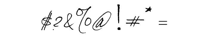 Alternika Millenium Font OTHER CHARS