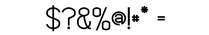 Alto Voltaje Font OTHER CHARS