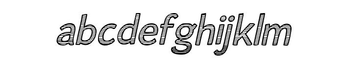 Alum Free Promotional 2 Font LOWERCASE