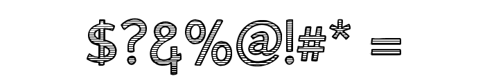 AlumFreePromotional Font OTHER CHARS