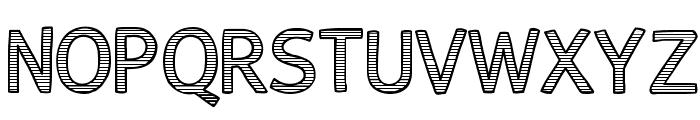 AlumFreePromotional Font UPPERCASE