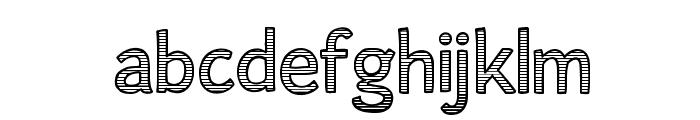 AlumFreePromotional Font LOWERCASE