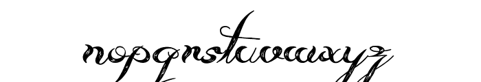 Always Beside You Font LOWERCASE