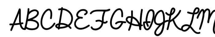 Always In My Heart Font UPPERCASE
