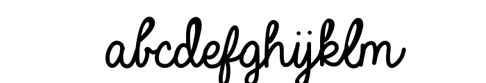 Always In My Heart Font LOWERCASE