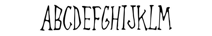 Always Joking Font LOWERCASE