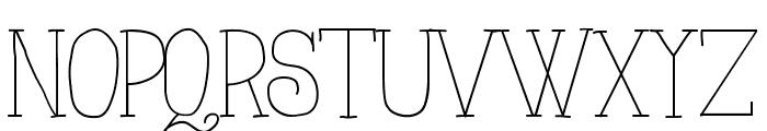 AlwaysHere Font UPPERCASE