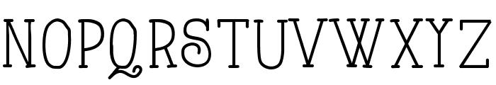 AlwaysHereToo Font LOWERCASE