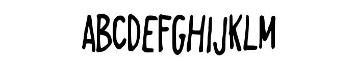 AlwaysRight Font UPPERCASE