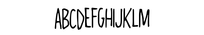 AlwaysRight Font LOWERCASE