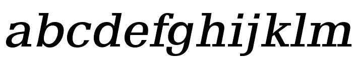 AlyssaOpti-Italic Font LOWERCASE