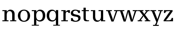 AlyssaOpti Font LOWERCASE
